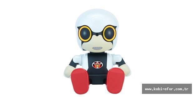Toyota'nın mini robotu Kirobo insanlarla arkadaşlık ediyor