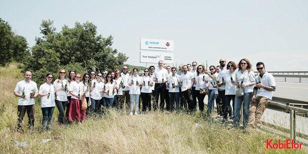 Türk Telekom çalışanları için binlerce fidan dikecek