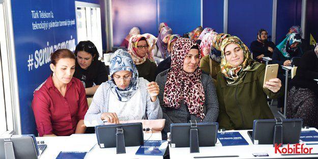 Türk Telekom Eğitim Tırı ile yollarda
