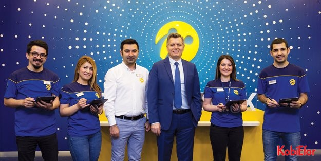 Turkcell yeni mağazalarıyla alışveriş deneyimini geleceğe taşıyor