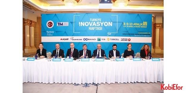 Türkiye İnovasyon Haftası, 8-10 Aralık'ta İstanbul'da