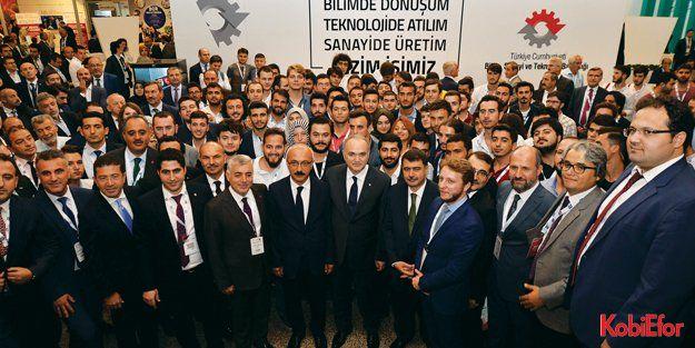 Türkiye'nin Ar-Ge İnovasyon Zirvesi büyük ilgi gördü