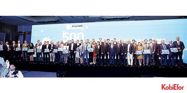 Türkiye'nin ilk 500 bilişim şirketi belli oldu