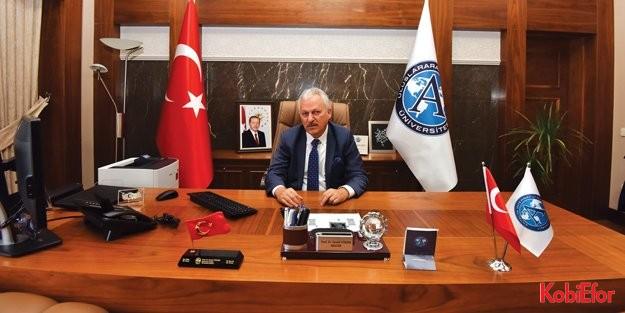 """UAÜ Rektörü Prof.Dr. İsmail Yüksek: 'Bölgesel çekim merkezi olacağız"""""""