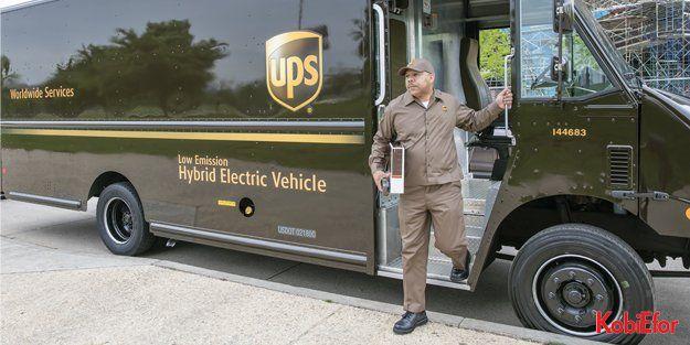 UPS, alternatif yakıt kullanan araçlara ağırlık veriyor
