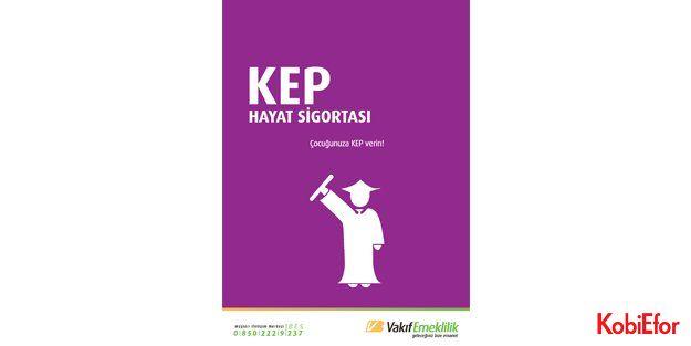 Vakıf Emeklilik KEP'le çocuklarınıza kesintisiz eğitim