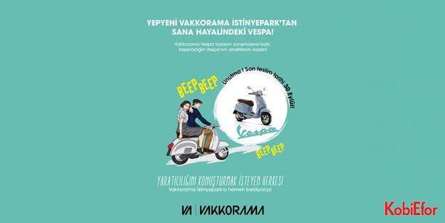 Vakkorama ile hayalindeki Vespa'yı tasarla
