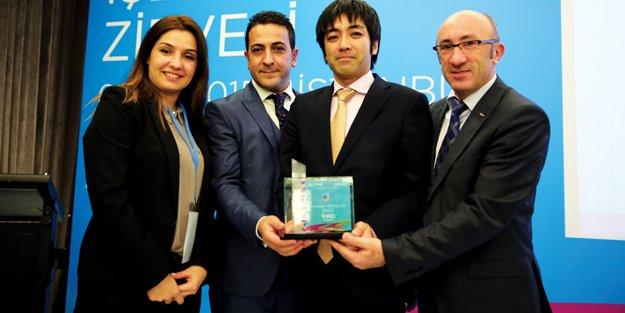 Viko'ya Yılın Sosyal Sorumluluk Projesi Ödülü