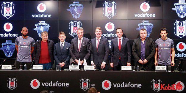 Vodafone ve Beşiktaş futbola genç yetenekler kazandıracak