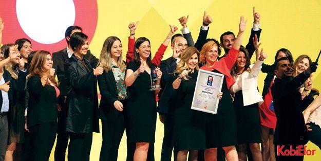 Vodafone'a en iyi işveren ödülü