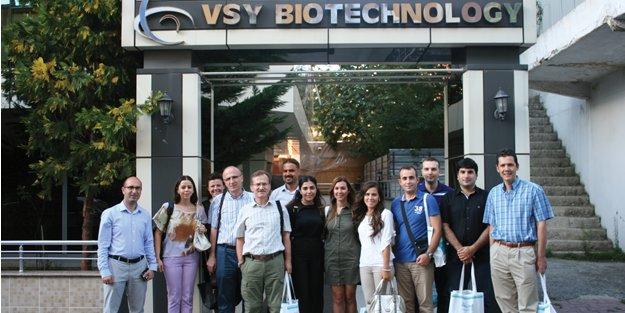 VSY Biotechnology Ataşehir Fabrikası kapılarını göz doktorlarına açtı