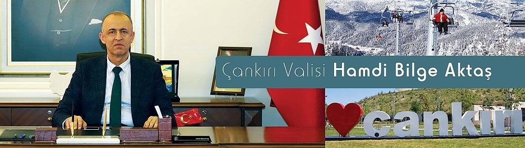 """Çankırı Valisi Hamdi Bilge Aktaş, ilin gelecek vizyonunu açıkladı;""""Sanayi ve turizmin çekim merkezi"""""""
