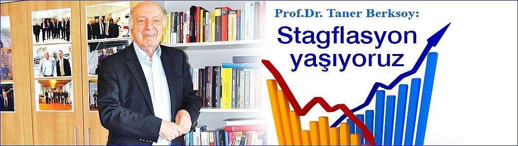 """Prof.Dr. Taner Berksoy: """"Stagflasyon yaşıyoruz"""""""