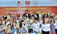 Daha sağlıklı gelecek nesiller için Yemekte Denge Eğitim Projesi