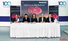 Panasonic'ten '100 çocuk, 100 mutluluk' projesi