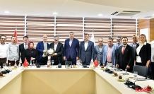 Bakan Yardımcısı Büyükdede, Antalya OSB'de sanayicilerle