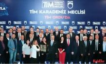 """TİM ihracat meşalesini bu kez """"Karadeniz Meclisi"""" ile Ordu'da yaktı"""""""