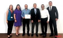 Alışan Lojistik'ebir ödül de Shell'den