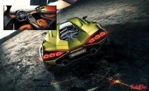 """Lamborghini'nin hibrit """"yıldırımı"""" Sian, Frankfurt'a düştü"""