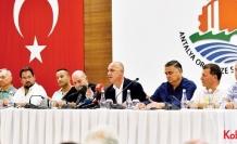 Antalya OSB sanayicisinden Köksal Sarı'ya tam destek