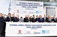 Sabiha Gökçen Havalimanı'ndan cami projesi