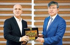 Antalya OSB-Kazakistan kardeşliği