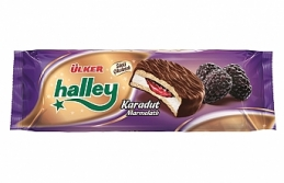 Halley'e bi halley oldu, karadut marmeladıyla doldu