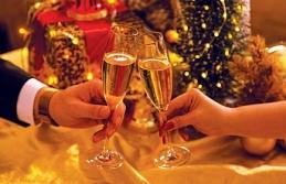 Çırağan Sarayı'nda ihtişamlı Noel ve yılbaşı kutlamaları