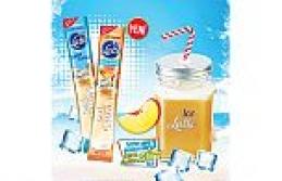 Bu yazın serinleten kahvesi Ülker Cafe Crown Ice Latte Şeftali