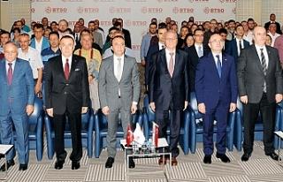 TOSYÖV, KGF, KOSGEB, BTSO ve DenizBank, Bursalı...