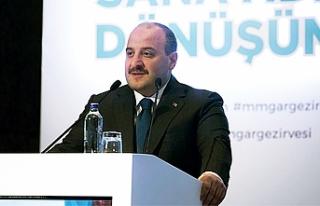"""Sanayi ve Teknoloji Bakanı Mustafa Varank açıkladı:""""Yerlileştirme..."""