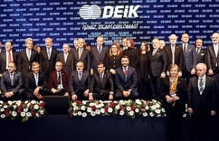 """Cumhurbaşkanı Erdoğan:""""DEİK, Türk iş dünyasının..."""