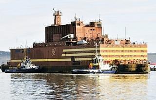 Dünyanın tek yüzer nükleer güç santralinin ilk...