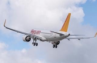 Pegasus Hava Yolları, Ankara ile Paris arasında...