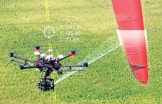 Drone teknolojisi rüzgar türbini bakımlarında...