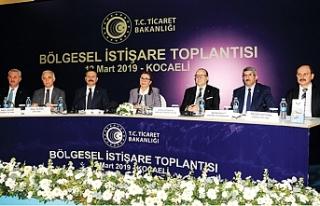 """Ticaret Bakanı Ruhsar Pekcan: """"Kocaeli başımızın..."""