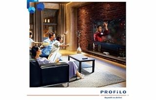 Babalar Günü'nün keyfi Profilo 4K Ultra HD LED...