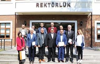 GEPOSB Yüksek Lisans Diploması'nı GTÜ'den...