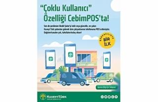 """""""Kuveyt Türk CebimPOS'a çoklu kullanıcı özelliği"""