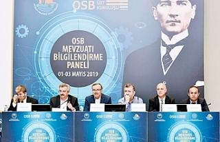 """""""OSB'ler Türkiye'nin üreten gücü haline..."""