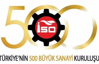 """""""Türkiye'nin 500 Büyük Sanayi Kuruluşu'nun..."""