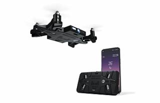 Akıllı telefon kılıfına gizli drone: Selfly