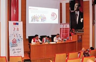 Birlik OSB'de Kızılay İstihdam Programları Bilgilendirme...
