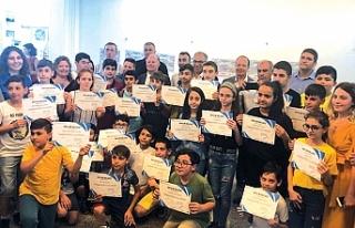 Çocuklar, GOSB Teknopark'ta geleceği tasarladı