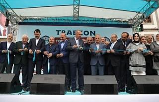 Cumhurbaşkanı Recep Tayyip Erdoğan, Trabzon'a...