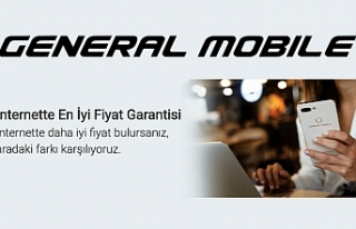 'En İyi Fiyat' güvencesi generalmobile.com'da