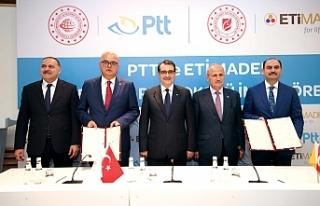 ETİ Maden ile PTT işbirliği
