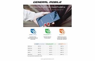 General Mobile: 'GMHepYeni' iletelefonların...