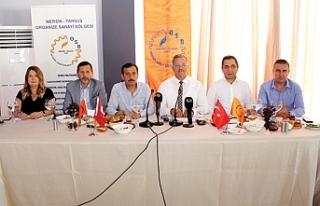 """Sabri Tekli: """"MTOSB Mersin'in gelişimine büyük..."""