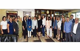 Trabzon ve Şanlıurfalı girişimci kadınlardan...